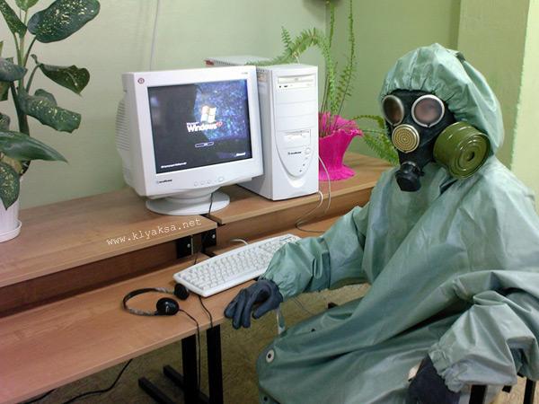 Юмор - компьютер и здоровье